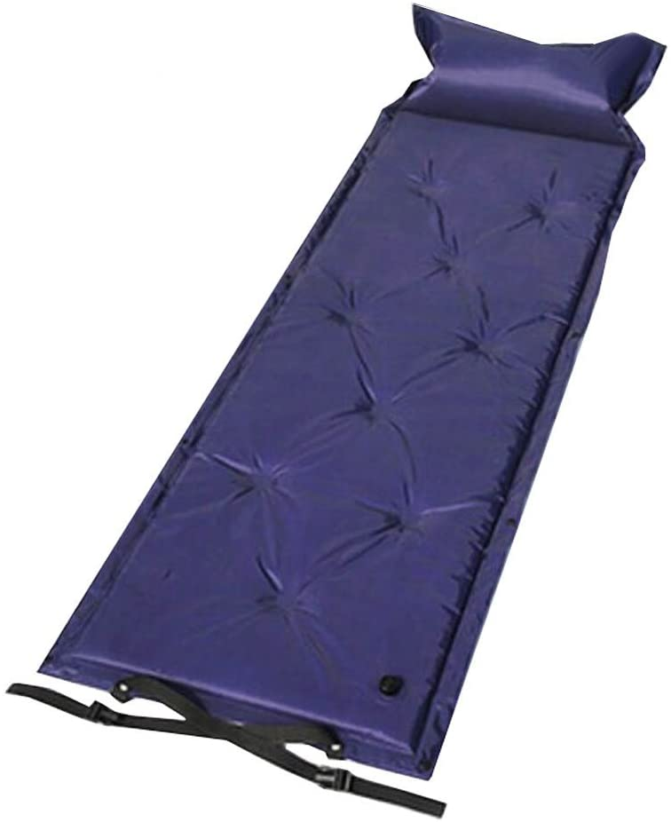 George Jimmy Waterproof Lightweight Outdoor Single Sleeping Mat-Blue