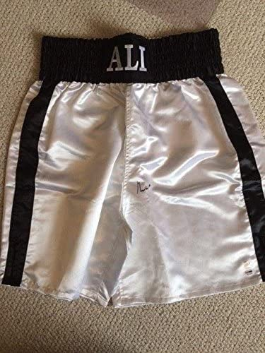 Muhammad Ali Authentic Signed Ali Everlast Boxing Trunks Rare Ali+ Coa - PSA/DNA Certified - Autographed Boxing Robes and Trunks
