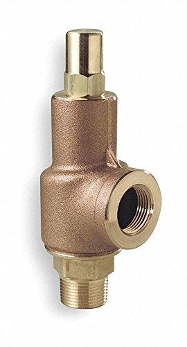 AQUATROL Bronze Adjustable Relief Valve, MNPT Inlet Type, FNPT Outlet Type