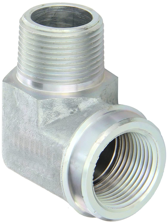 Eaton Weatherhead C3409X16 Carbon Steel Fitting, 90 Degree Elbow, 1