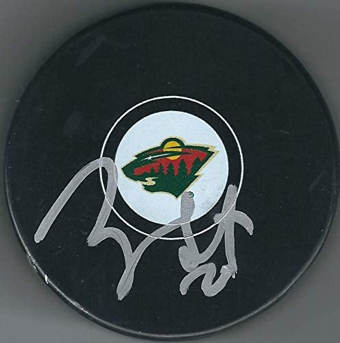 Ryan Suter Signed Puck - Autographed NHL Pucks