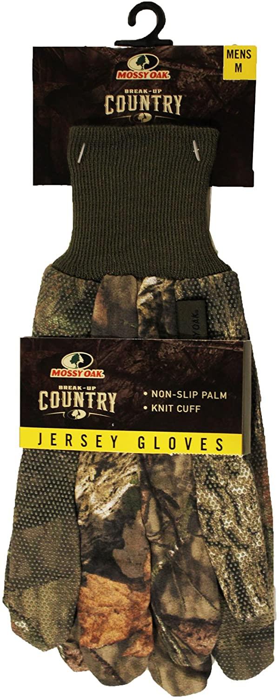 Mossy Oak Break-UP Country Mens Jersey Gloves Medium