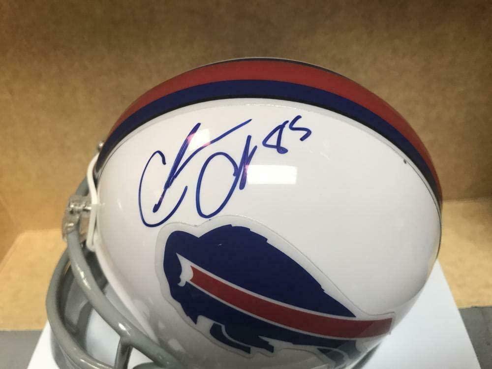 Charles Clay Autographed Mini Helmet - Riddell W coa - Autographed NFL Mini Helmets
