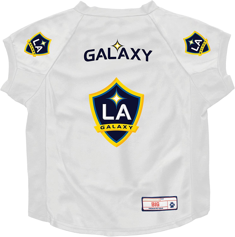 Littlearth MLS Los Angeles Galaxy Unisex Big Dog Jersey, Black, One Size