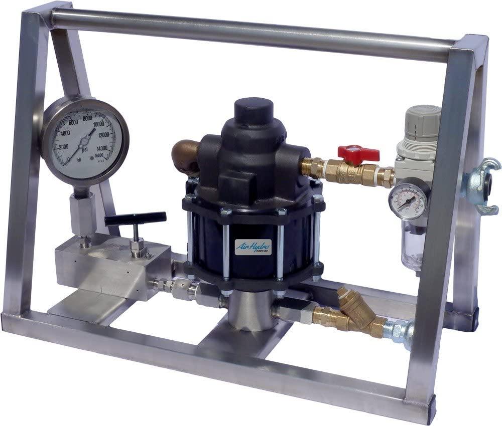 Air Operated Hydrostatic Test Pump 10,000 PSI - No Tank