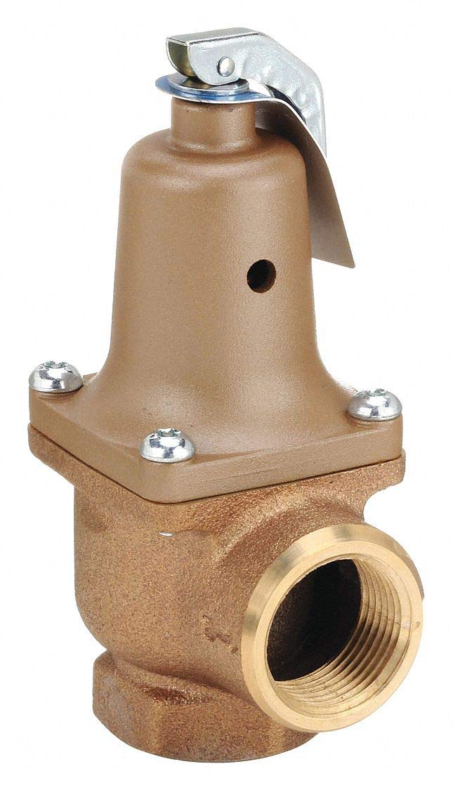 Watts ASME Water Pressure Relief Valves Series 174A-125, 1