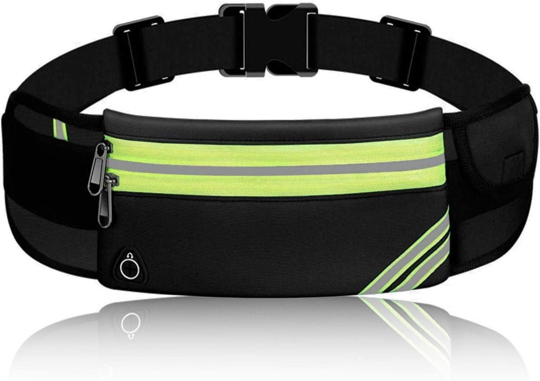 Fanny Pack for Men Women, Running Belt for Phone, Bounce Free Waist Pack Bag, Jogging Pocket Runners Belt - Running Phone Holder for iPhone Samsung