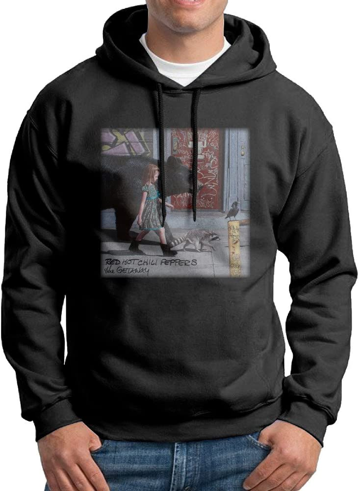 Men Red Hot Chili Peppers The Getaway Pullover Hooded Sweatshirt