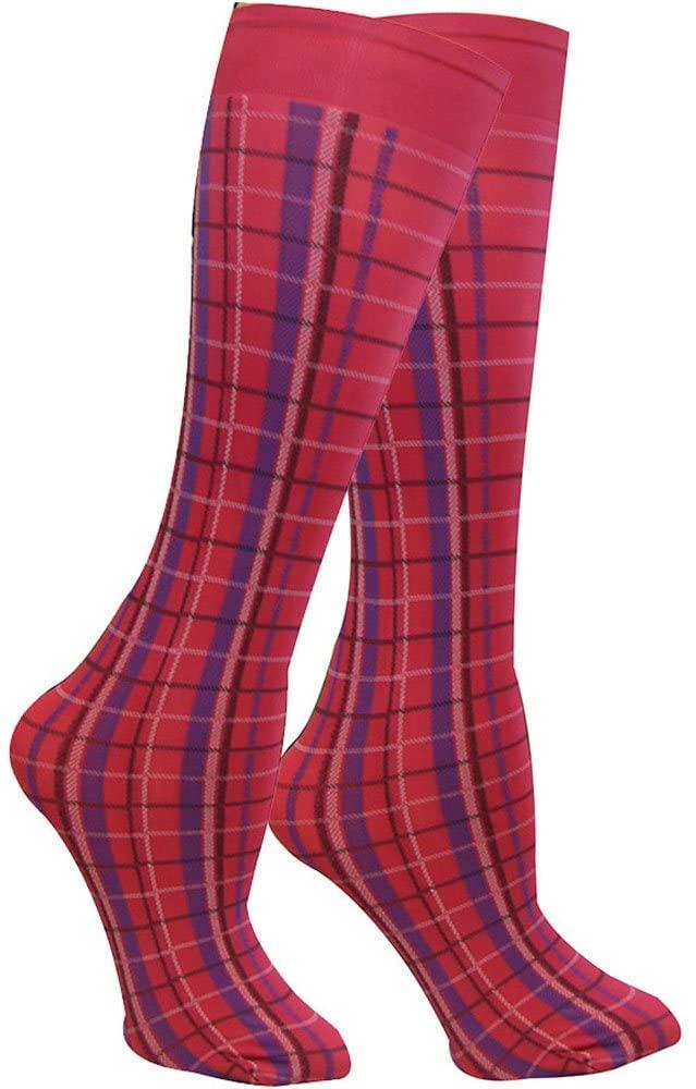 Winners Outer Wear Highland Plaid Knee Socks