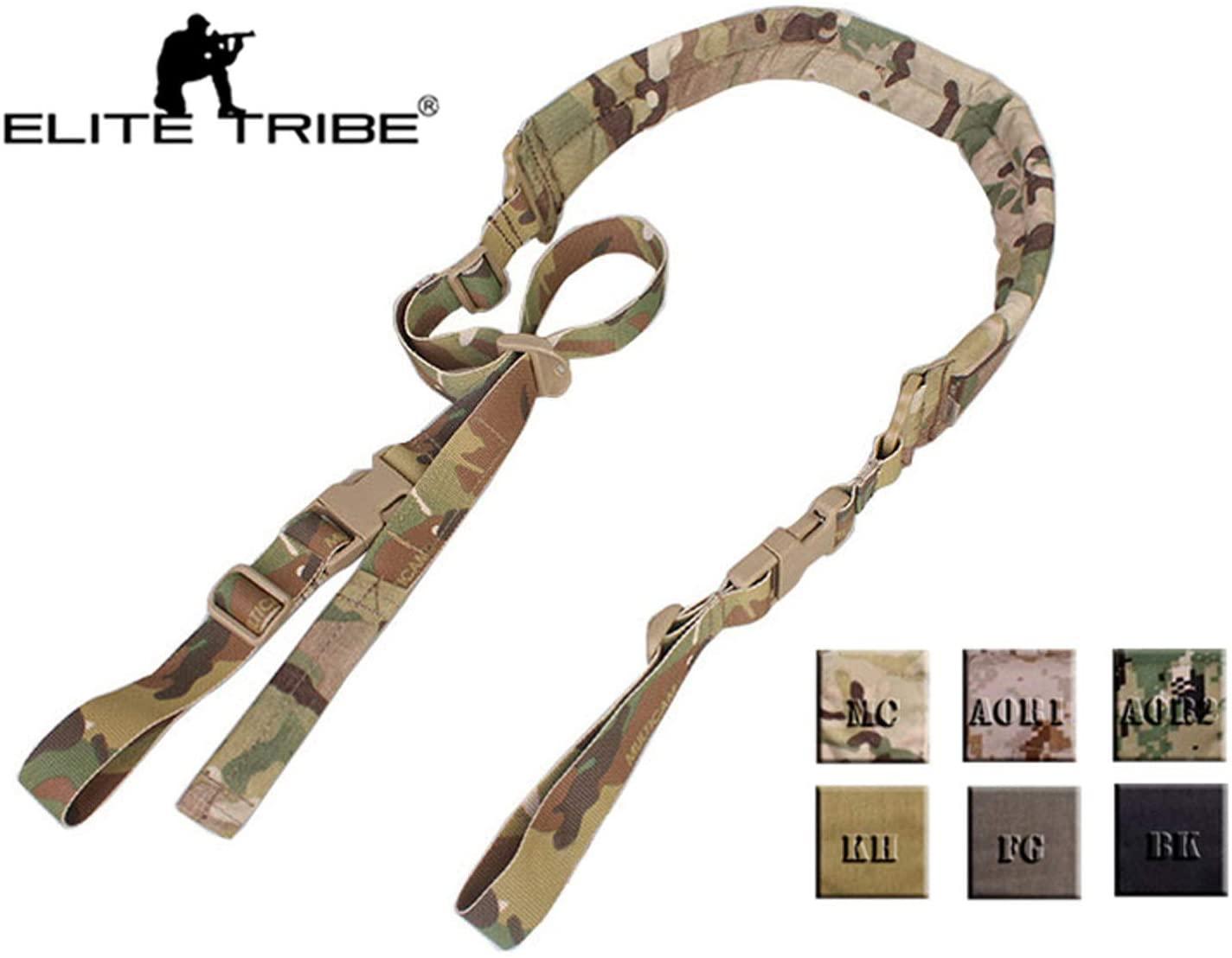 Tactical 2 Point Rifle Gun Sling Quick Adjustable Padded Shoulder Strap