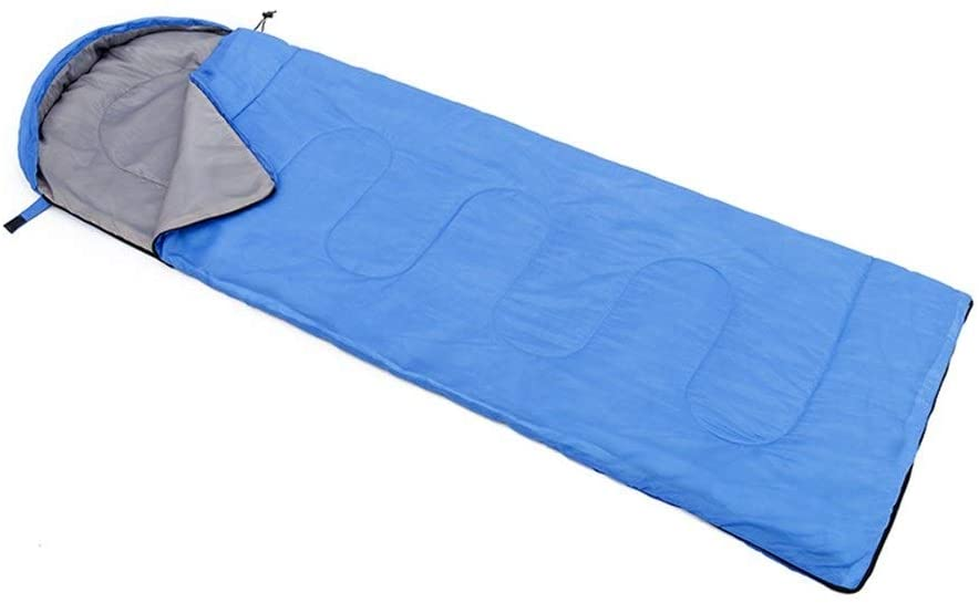 L Outdoor 4 Seasons Increase Camping Moisture-Proof Sleeping Bag, Double can be Stitched Ultra-Light Sleeping Bag