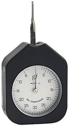 MXBAOHENG 30g Dial Tension Gauge ATG-30 Gram Gauge Force Tension Meter (Single Pointer)