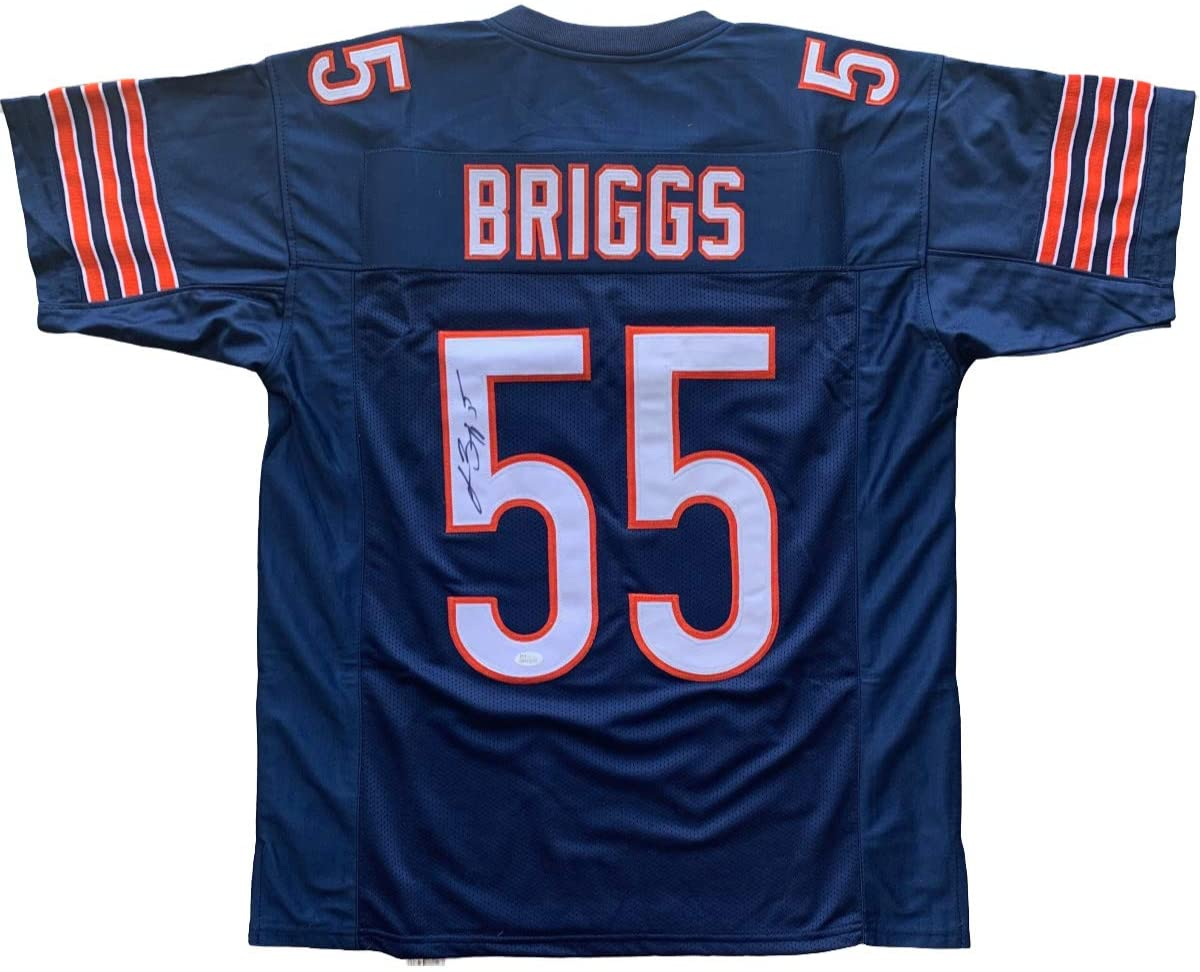 Lance Briggs autographed signed jersey NFL Chicago Bears JSA w/COA