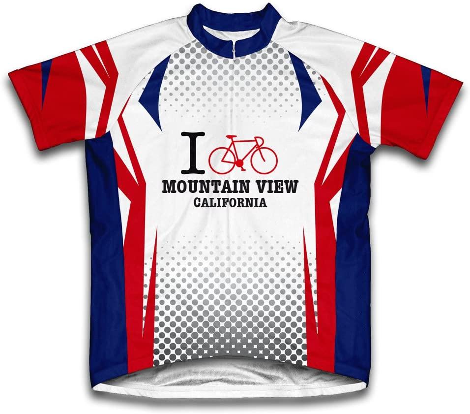 ScudoPro Mountain View California CA Cycling Jersey for Men