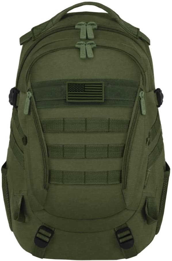 East West U.S.A RT523 Tactical Multi-Use Molle Assault Military Rucksacks Backpack