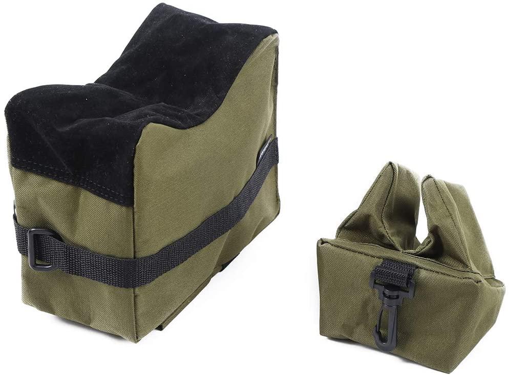 Kwnraor Shooting Bags for Rifles, Tactical Shooting Rest Bag Rifle Range Sandbag for Gun Hunting Outdoor – Unfilled