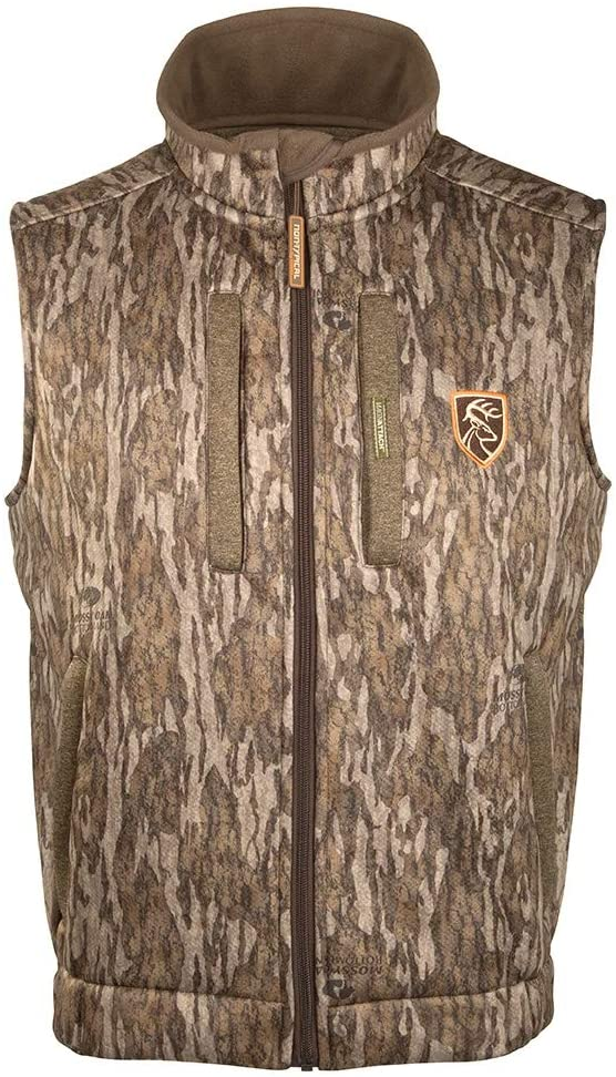Drake Waterfowl Mens Silencer Fleece with Agion Active XL Hunting Vest