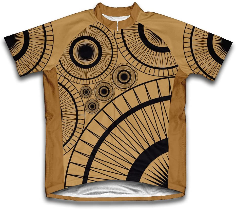 ScudoPro Slim Gears Short Sleeve Cycling Jersey for Youth