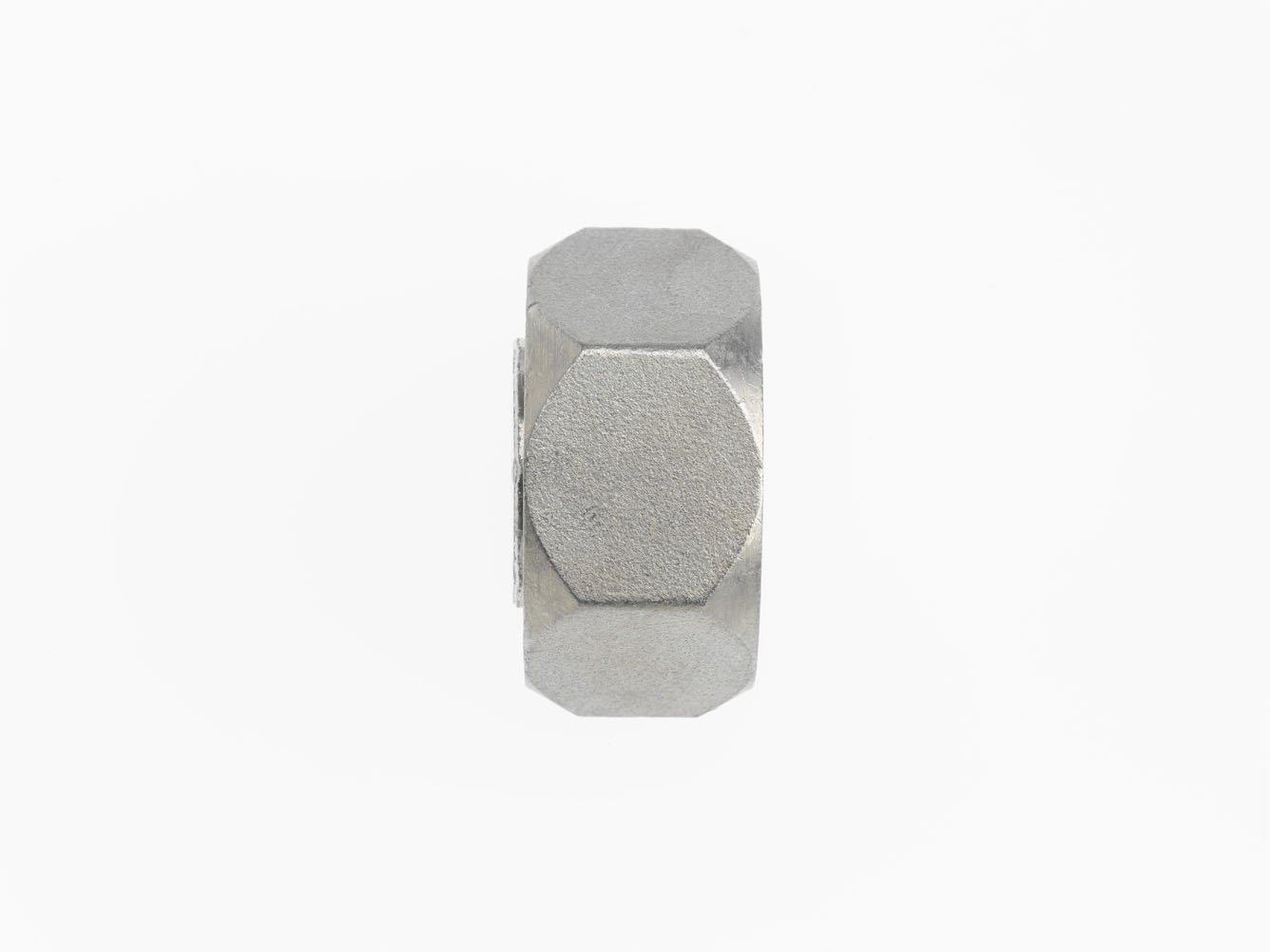 Brennan 0304-C-16 Steel JIC Flared Tube Fitting, Cap Nut, 1