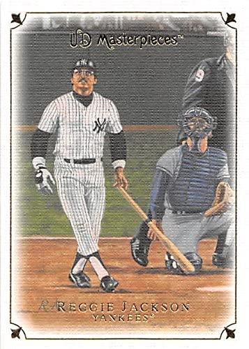 Reggie Jackson baseball card (New York Yankees 1977 World Series Home Run) 2008 Upper Deck Masterpieces #18