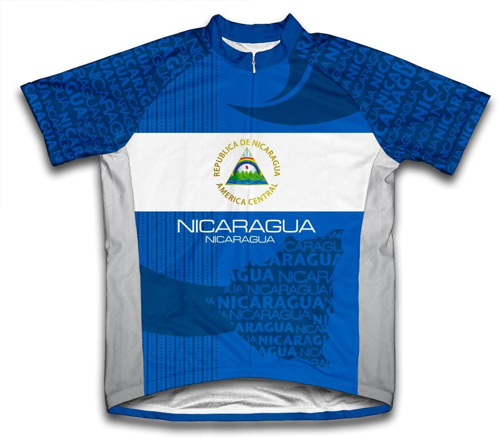 ScudoPro Nicaragua Short Sleeve Cycling Jersey for Youth