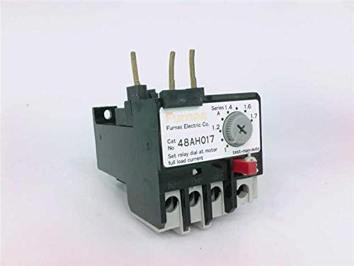 FURNAS ELECTRIC CO 48AH017 Overload Relay 1-1.7A