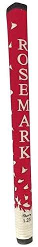 Rosemark New Thorn 1.25 Standard Red/White Putter Grip
