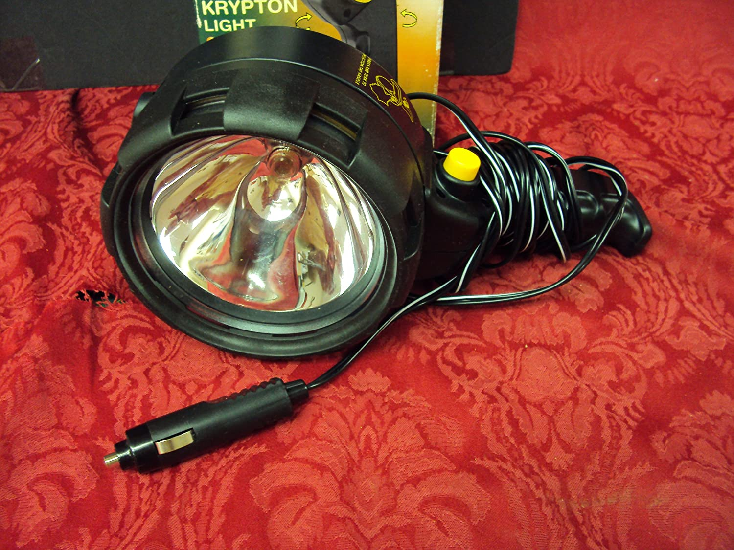 Weather Proof Krypton Power Hunting Fishing Camping Light with 12V Car Plug