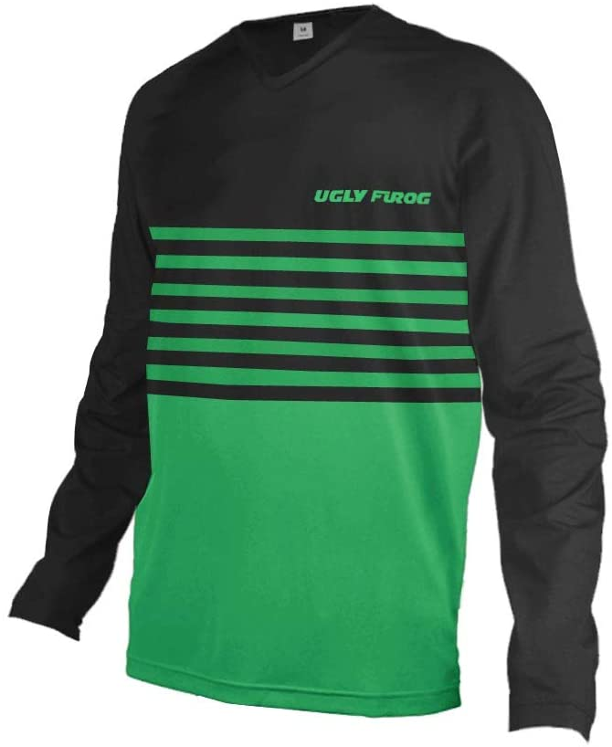 Uglyfrog Men's Bicycle Clothing,Short/Long Sleeve Breathable Mountain Bike Shirts Lightweight MTB Downhill Jersey for Outdoor Cycling Running Training Bicycle Wear HUS19SJF04