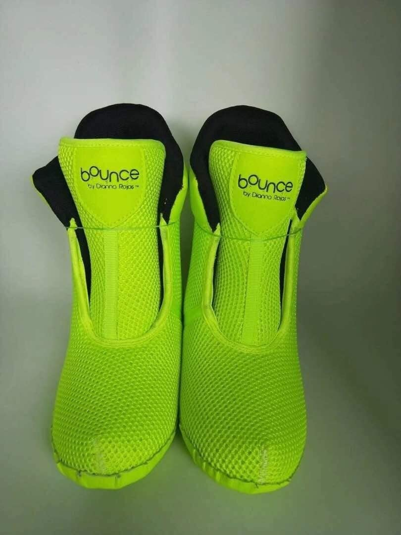 Bounce Boots by Dianna Rojas Bounce Booties for Green Adult M