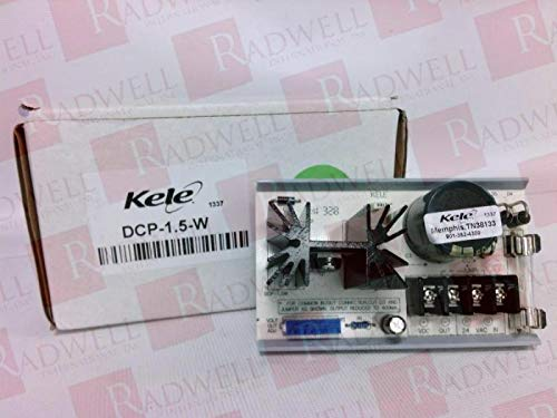 KELE & ASSOCIATES DCP-1.5-W 1.5 AMP, 27 VDC MAX, 24 VDC Output, Power Supply, 24 VAC Input, Regulated, (TN38133)