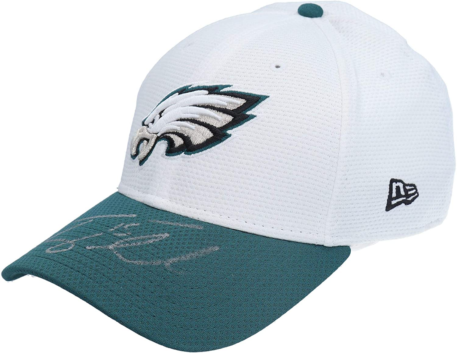 Tim Tebow Philadelphia Eagles Autographed Player-Worn White Cap from the 2015 NFL Pre-Season - AA0051757 - Fanatics Authentic Certified