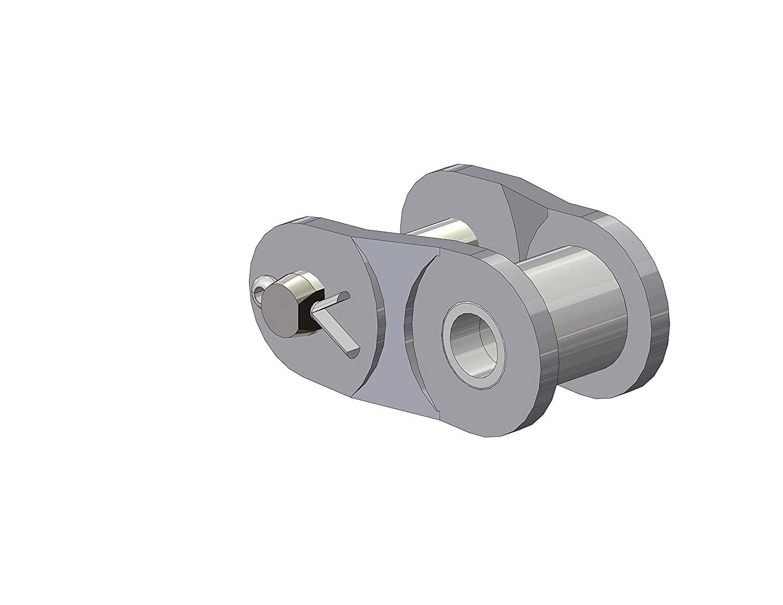 Senqcia Ultra-Max 60CRPUMOL SENQCIA 60CRP Chrome Hardened Pin Offset Link Cotter Pin Type ASME/ANSI Standard Roller Chain, Single Strand, 3/4