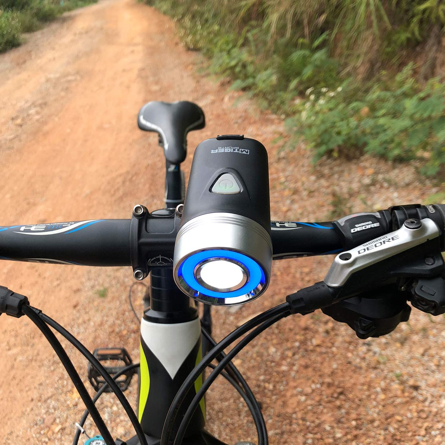 M-Tiger Cyclo 500 Lumen Halo USB Rechargeable Bicycle Headlight