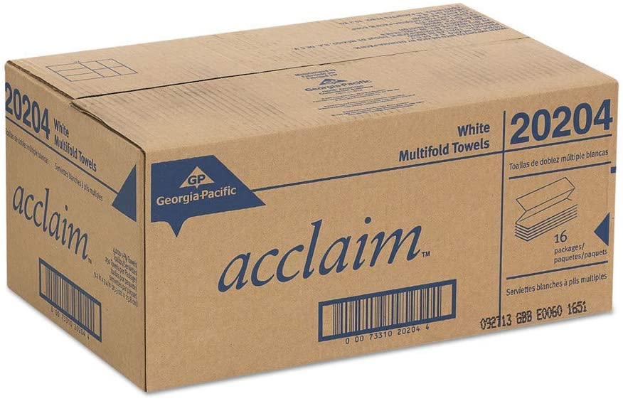Georgia Pacific® Professional acclaim® Folded Paper Towels GPC 202-04