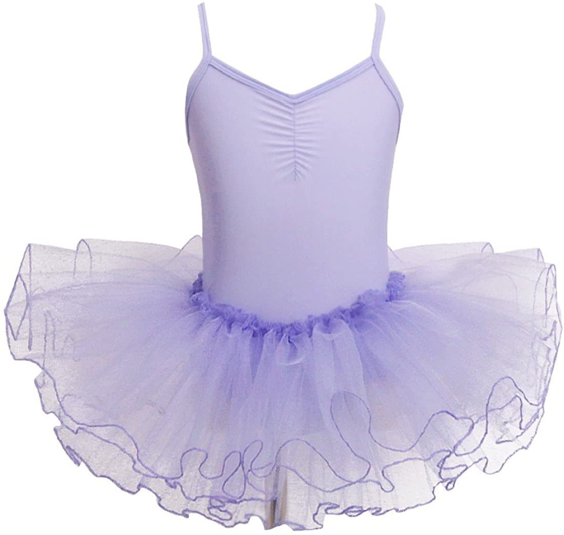 iiniim Girls Gymnastic Camisole Leotard Ballet Tutu Skirt Dress Ballerina Ballroom Dance wear Costumes