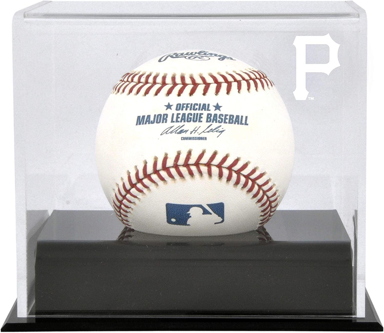 Sports Memorabilia Pittsburgh Pirates (2014-Present) Baseball Cube Logo Display Case - Baseball Free Standing Display Cases