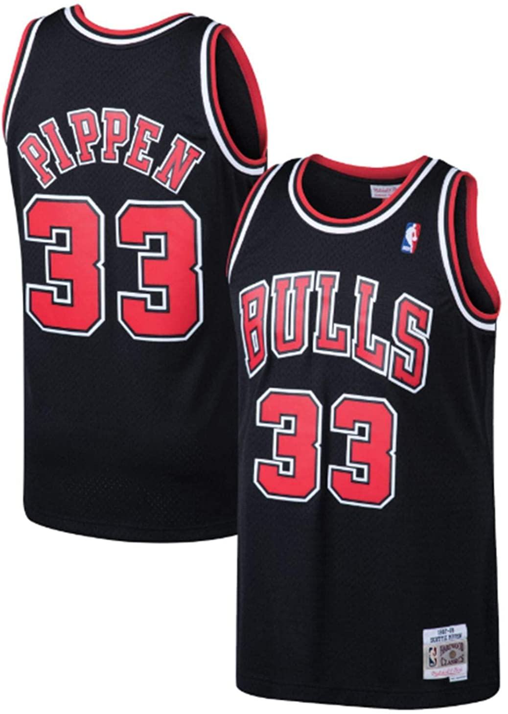 Mitchell & Ness Scottie Pippen Chicago Bulls Men's Black 1997-98 HWC Swingman Jersey