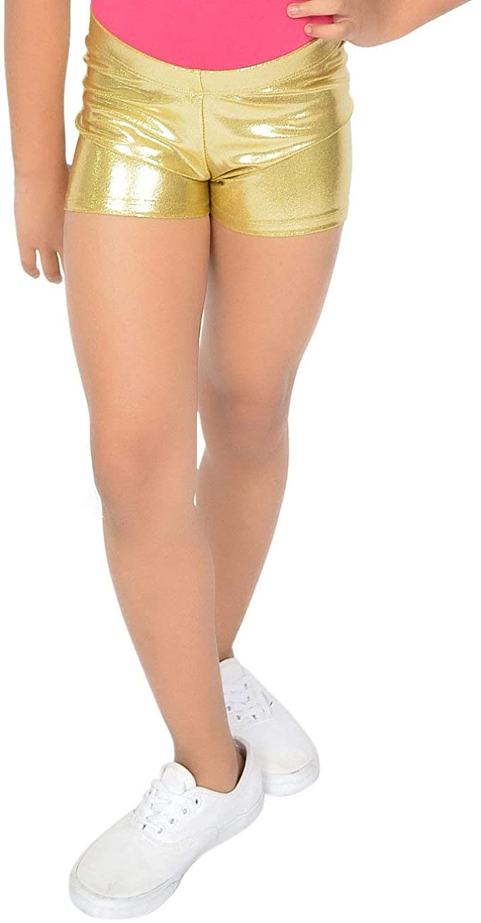 Stretch is Comfort Girl's and Women's Cotton Stretch Booty Shorts