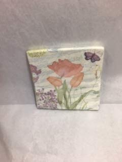 C. R. Gibson Symphony of Spring Luncheon Napkins, Package of 16