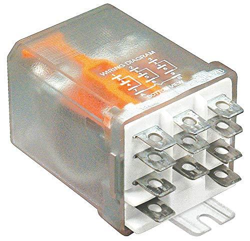 MAGNECRAFT 389FXCXC1-12D POWER RELAY, 3PDT, 12VDC, 20A, FLANGE