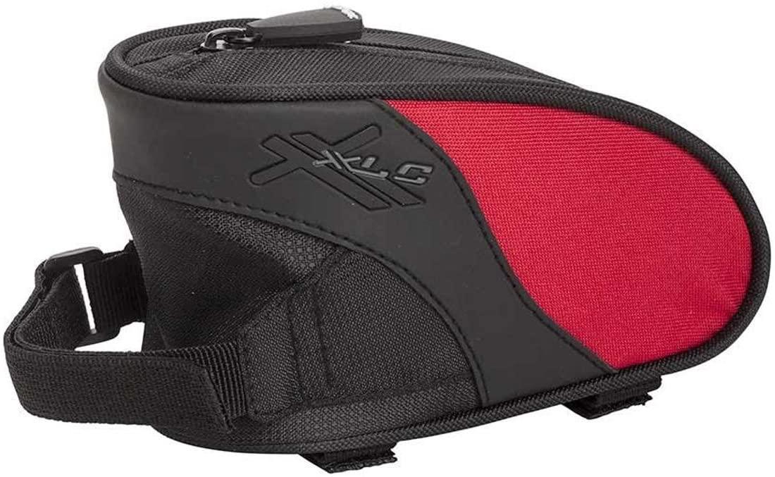 XLC DLX TOPTUBE BAG MD RD XLC DLX Md Top Tube bag BK/RED