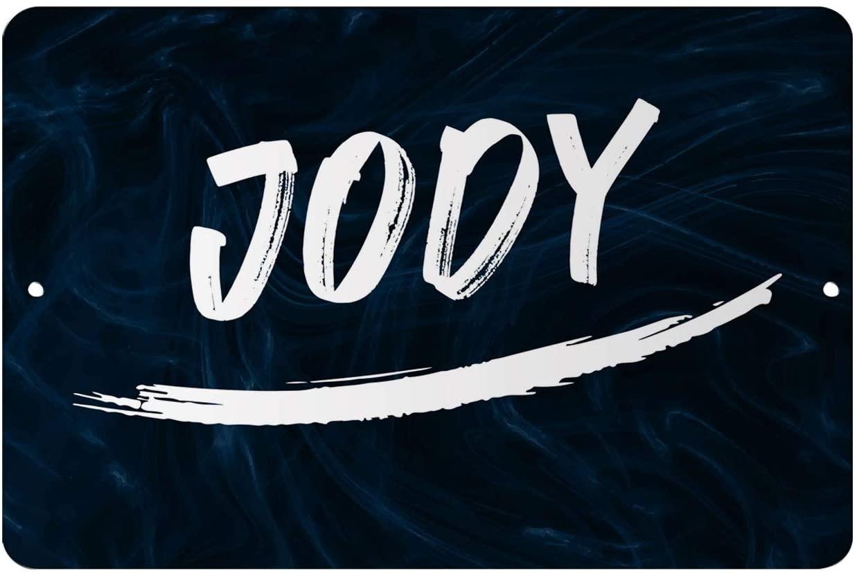 Makoroni - Jody Male and Boy Name 12x18 inc Aluminum Decorative Wall Street Sign
