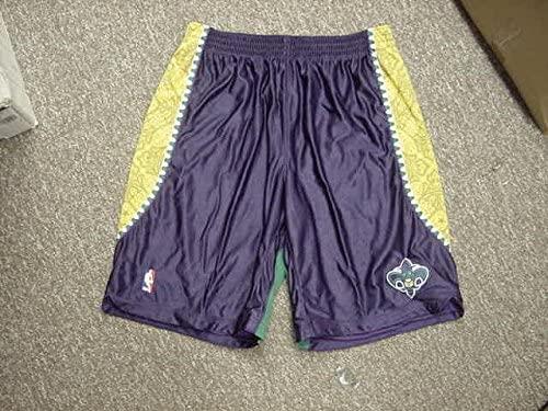 Xavier Henry Mardi Gras Adidas New Orleans Hornets Game Worn Shorts