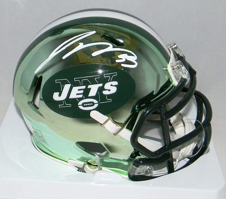 Jamal Adams Signed Mini Helmet - Chrome Speed - JSA Certified - Autographed NFL Mini Helmets