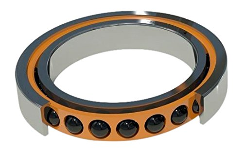 Barden Bearings 108HCRRUM Angular Contact Single Ball Bearing, Spindle, Medium Preload, Double Seal, Contact Angle 15 Degree, Bore 40 mm, 68 mm OD
