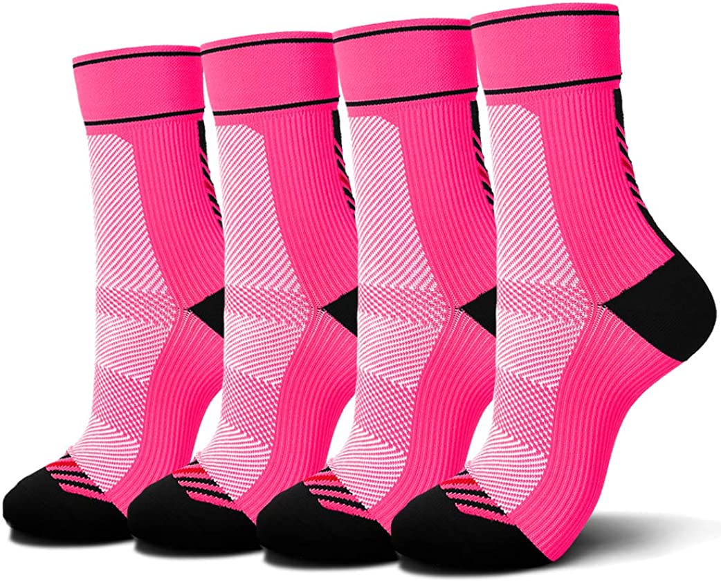 ETLieren Men's Compression Socks for Cycling,Hiking,Football,Running,Multi 3/4/5 Pairs