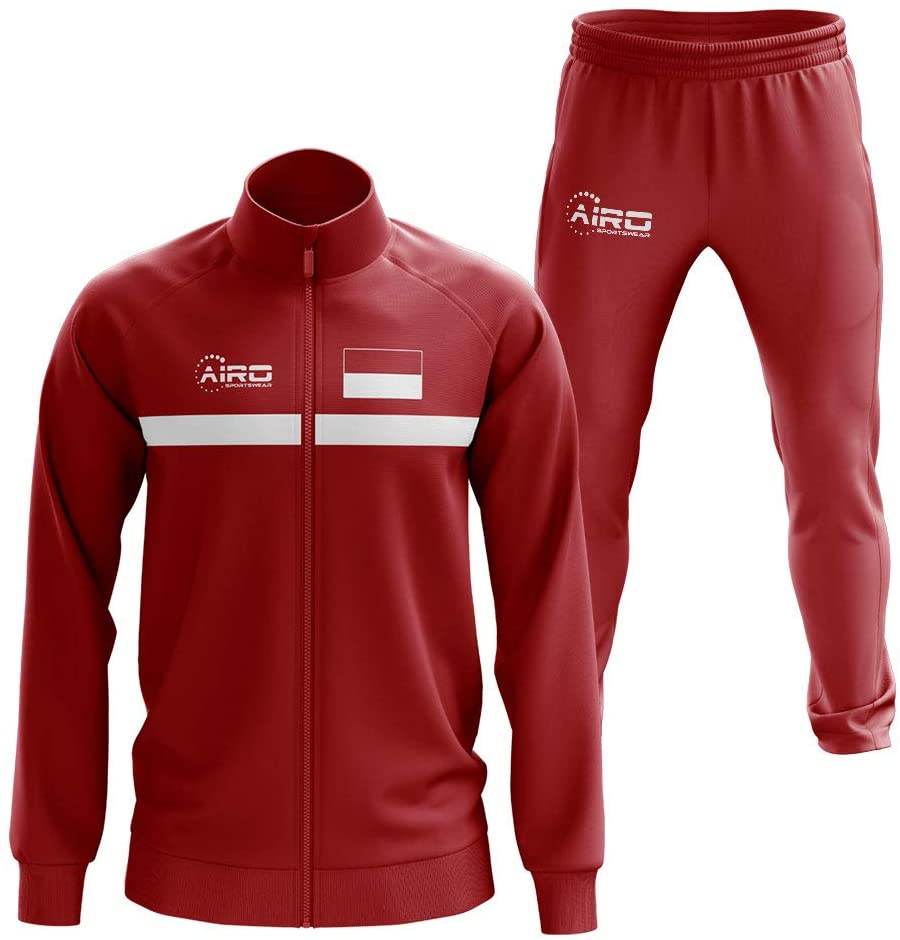 Airosportswear Indonesia Concept Football Tracksuit (Red)