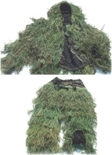 Ghillie Suits Ultra-Light Jacket & Pants Woodland - Medium (28