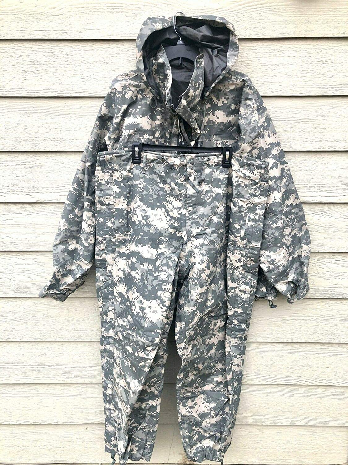 Us Army Issue Ecwcs Gen III Level 6 Gore Tex Acu Digital Extreme Cold/Wet Weather Set - X-Large Long